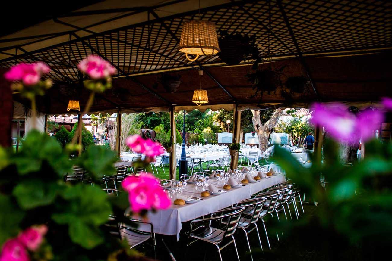 celebraciones exterior bodas comuniones eventos