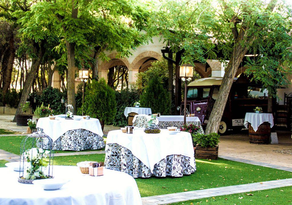 jardines finca el retamar para bodas en toledo